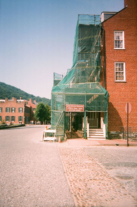 Sidewalk Protection Scaffold Rental Pedestrian Protection