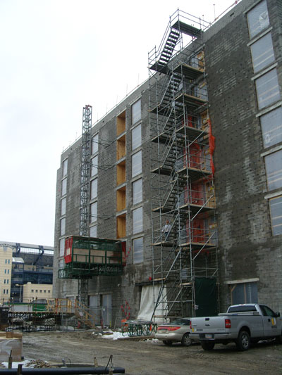Universal Scaffolding Pittsburgh : Commercial scaffolding rental universal scaffold systems