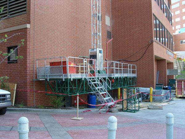 Hydro Mobile Mast Climber Rental Hydro Mobile Work Platforms