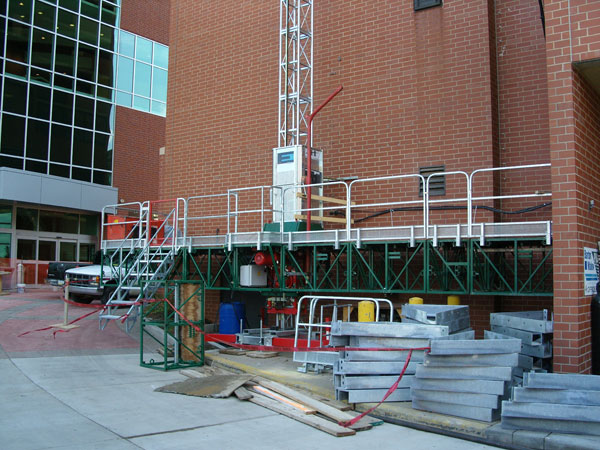 Universal Scaffolding Pittsburgh : Hydro mobile scaffold rental related keywords