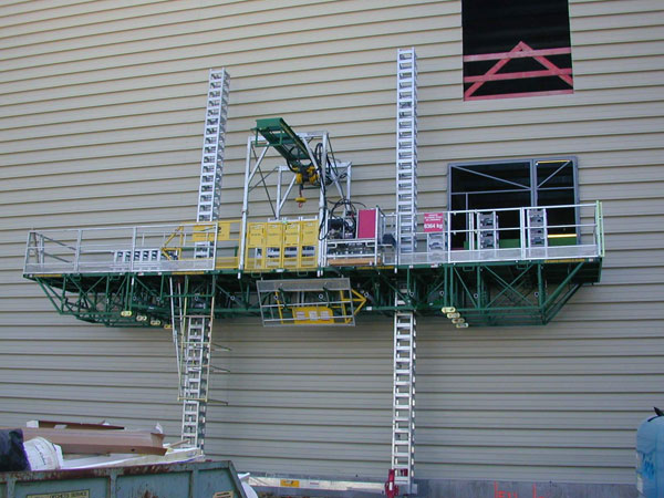 Perry Scaffolding On Stairs : Residential scaffolding rental universal scaffold systems