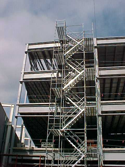 Stair tower rental scaffold stair towers universal for Stair tower