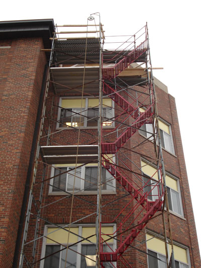 Staircase Tower Support : Stair tower rental scaffold towers universal